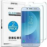 OMOTON [2 Pièces] Samsung Galaxy J7 2017 Film en Verre Trempé, Protection D'Écran Ultra Résistant pour Samsung Galaxy J7 2017