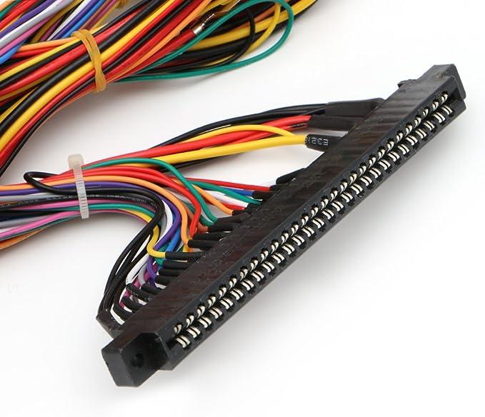 Gszfsm001 Arcade Jamma - Arnés de cableado para máquina (60 en 1 ...