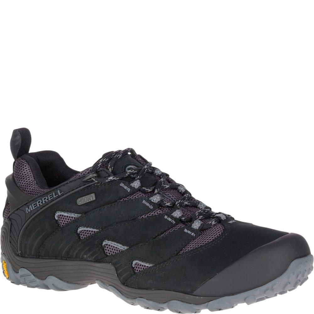 Merrell Men's Chameleon 7 Waterproof Hiking Shoe B071WKRK75 11 D(M) US|Black
