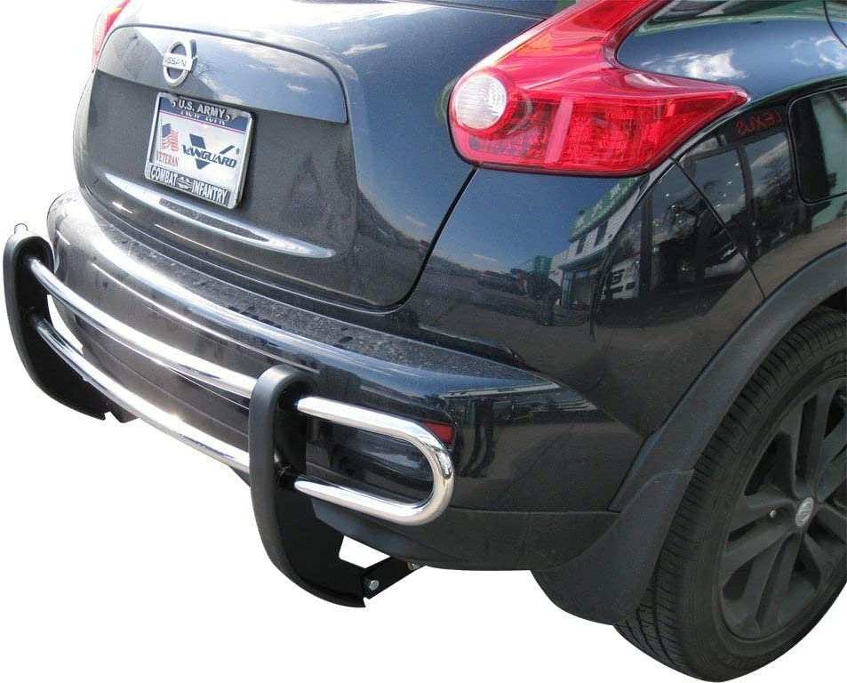 VANGUARD VGRBG-0745SS For Nissan Juke 2011-2019 Rear Bumper Guard Stainless Steel Double Tube Style