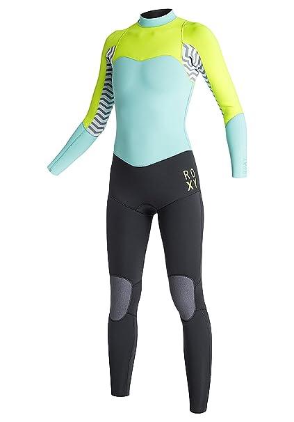 Roxy XY 4/3mm - Traje de Surf con Cremallera Trasera para Mujer ARJW103027: Amazon.es: Ropa y accesorios