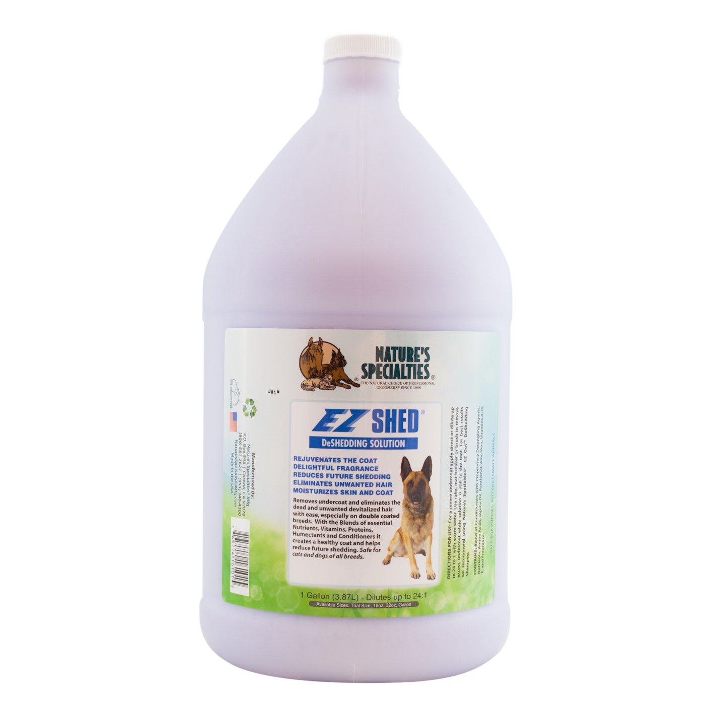 Nature's Specialties EZ Shed Conditioner for Pets by Nature's Specialties Mfg