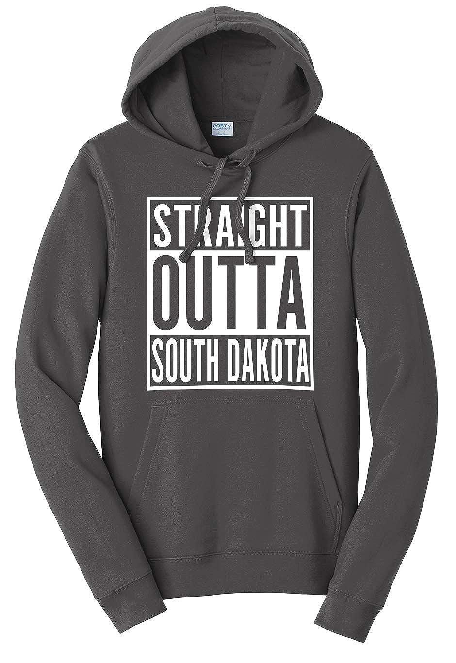 Tenacitee Unisex Straight Outta South Dakota Sweatshirt