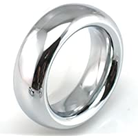 FST Stainless Steel Cock Ring Male Delaying Ejaculation Penis Ring, 1.75''