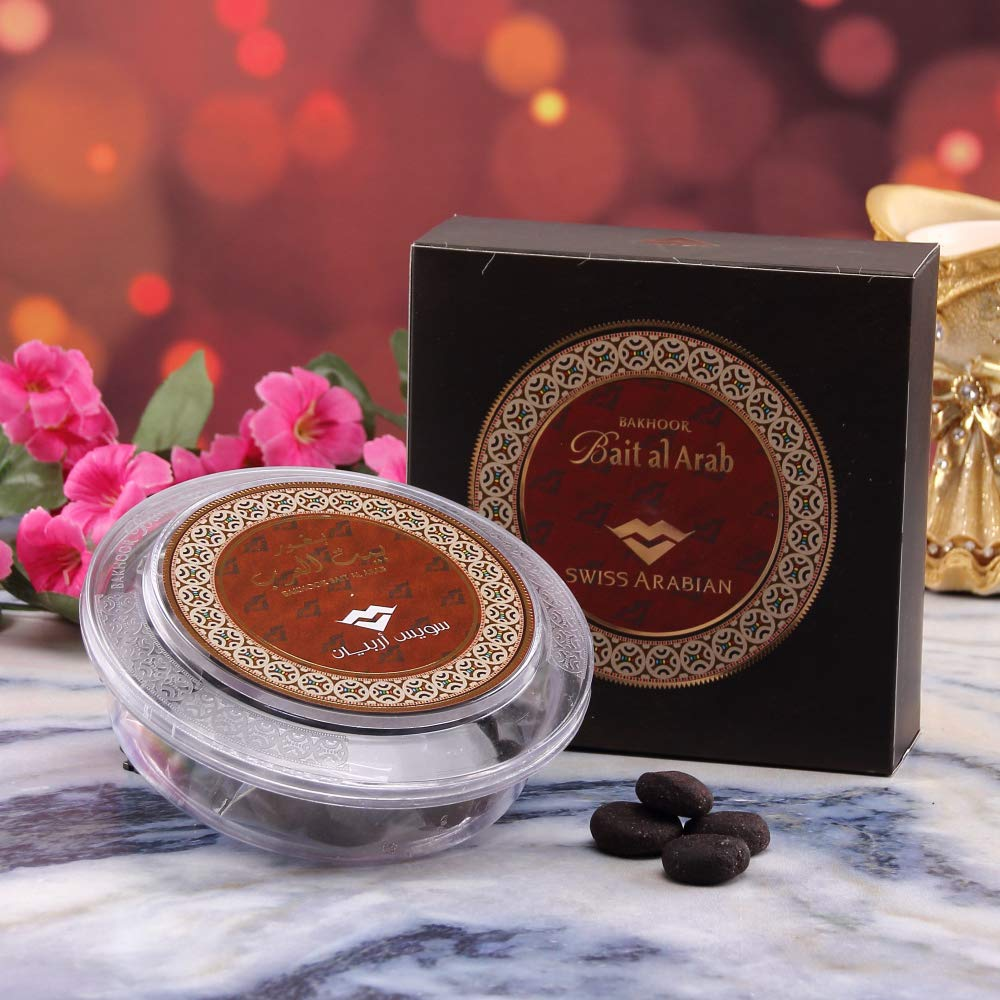 SWISSARABIAN Bait Al Arab, Arabian Oud Incense with Sultry Indian Rose, Amber, Saffron and Musk Notes by Swiss Arabian Oud Perfume Group by SWISSARABIAN (Image #2)
