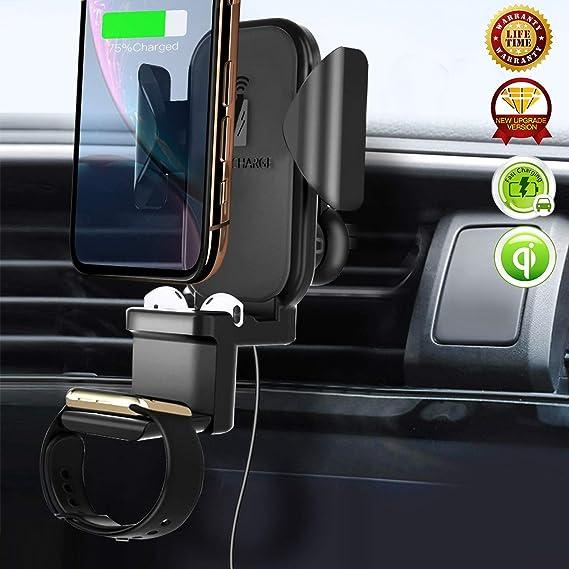 Amazon.com: Soporte de teléfono para cargador de coche ...