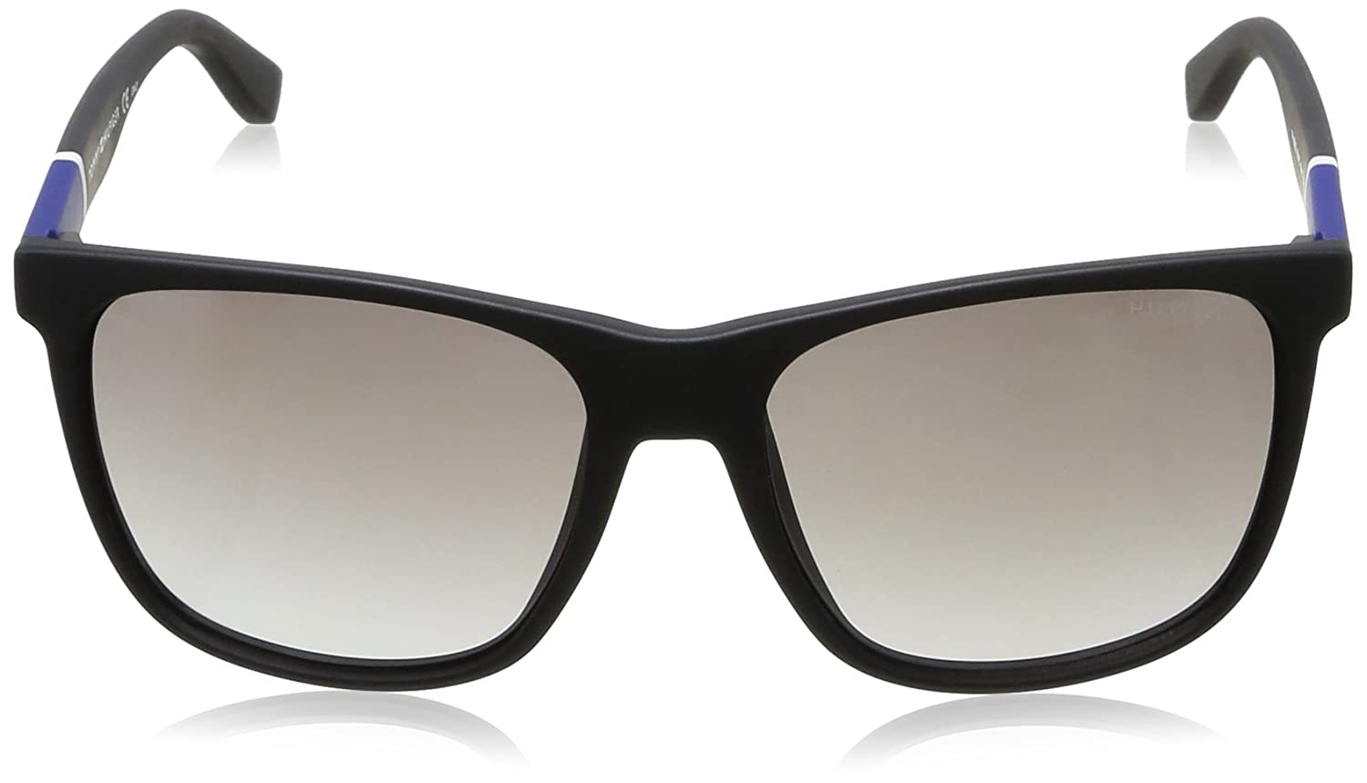 Tommy Hilfiger Mens Th1281s Square Sunglasses, Matte Black, 56 mm