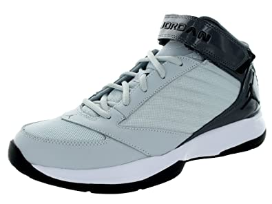 new concept efd3e 17e5e Jordan Nike 684829-004: Air BCT Mid 3 Platinum-Black-Grey Basketball  Sneaker Men