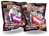 Spooky Lip Lollipop Suckers Wear As A Costume Accessory Double Pack 23g