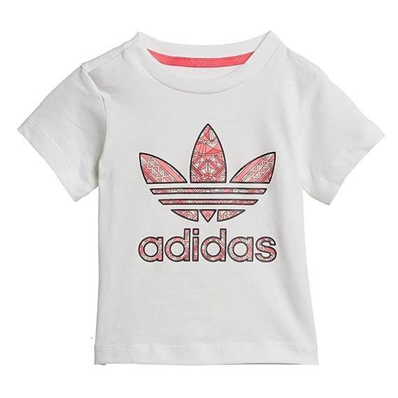 adidas Originals T-Shirt Manche Courte avec Boutons GRPHC CE4359 Blanc  Taille  6M 68cm 6669c053d94