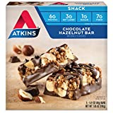 Atkins Snack Bar, Chocolate Hazelnut, 5 Bars