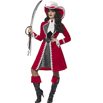 NET TOYS Disfraz Pirata Dama - S (ES 36/38) | Vestido Bucanero ...