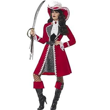 NET TOYS Disfraz Pirata Dama - M (ES 40/42) | Vestido ...