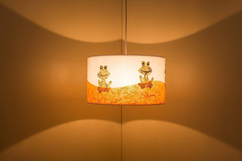 Lámpara de techo habitación infantil, dibujos originales en ...