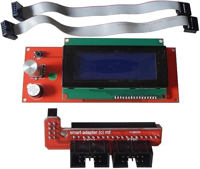Bitbot3D Display para Impresora 3D. Comtrolador con ranura sd ...