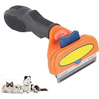 Uplayteck Peines para Gatos,Cepillo de Deshedding, Pelo de Perro y Pelo de Gato Que Vierte la Herramienta con Cuchilla…