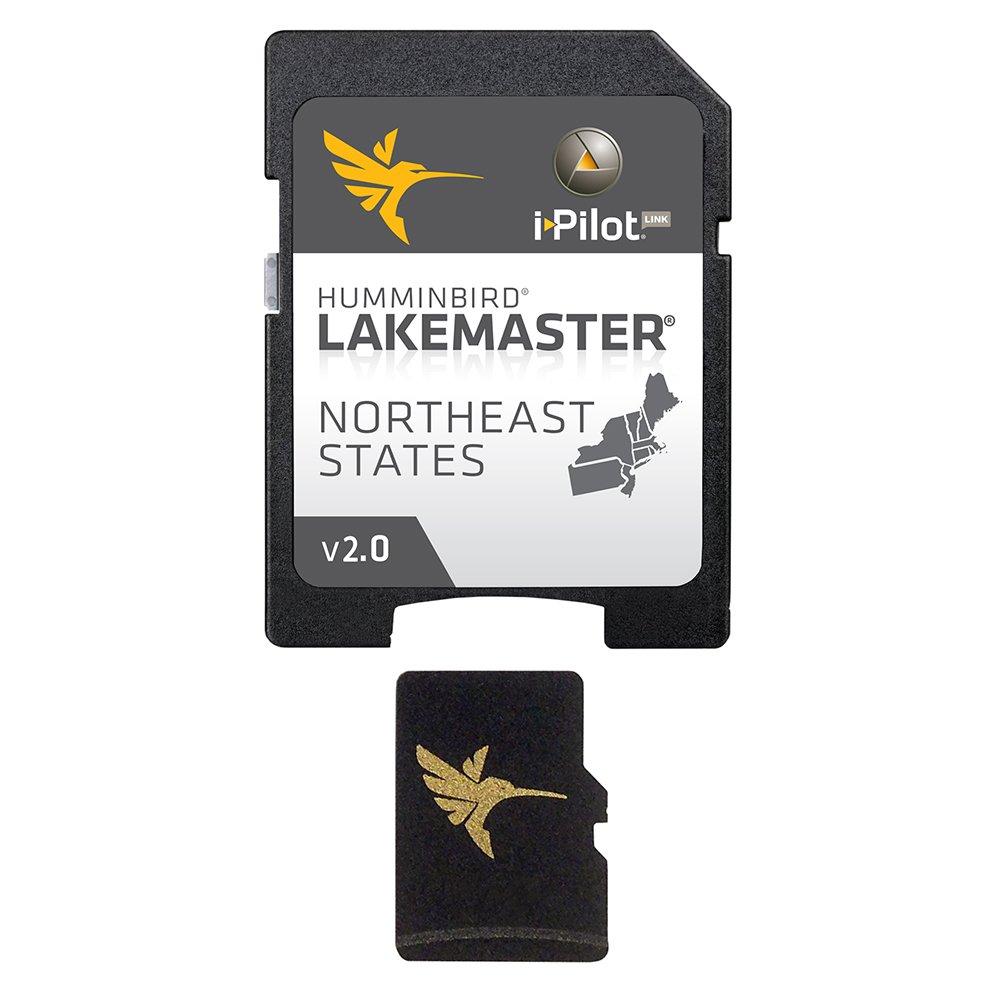 Humminbird LakeMaster Northeast Edition Digital GPS Lake Maps, Micro SD Card, Version 2 by Humminbird
