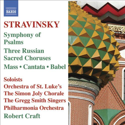 Stravinsky: Mass - Cantata - S...