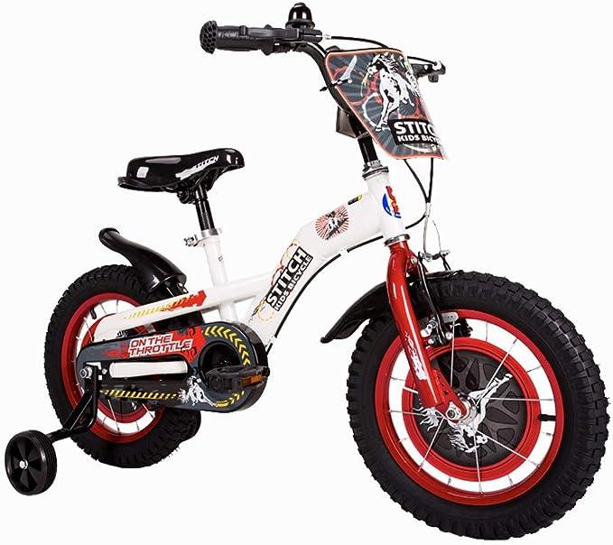 Bicicletas Para Niños Niños De Moda Aire Libre para Niños Niños Y Niñas Al Aire Libre Autos para Niños De 2 A 10 Años: Amazon.es: Juguetes y juegos