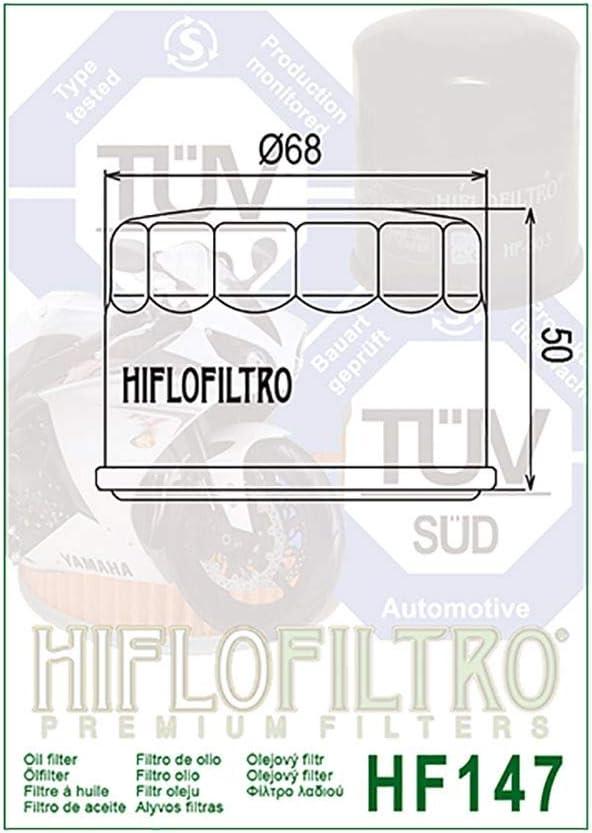 /Ölfilter Hiflo Schwarz MXU 500 4x4 08-10