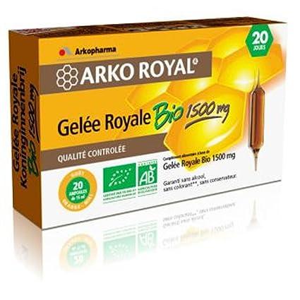 Arko Royal Gelée Royale Bio 1500mg - 20 x 15ml Arkopharma