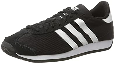 cheap for discount a6d18 83296 adidas Country OG S81860 Trainers - BlackWhite, Size UK 6.5