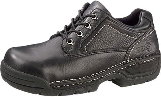 Hytest Black Opanka Men's Steel Toe | Shoes