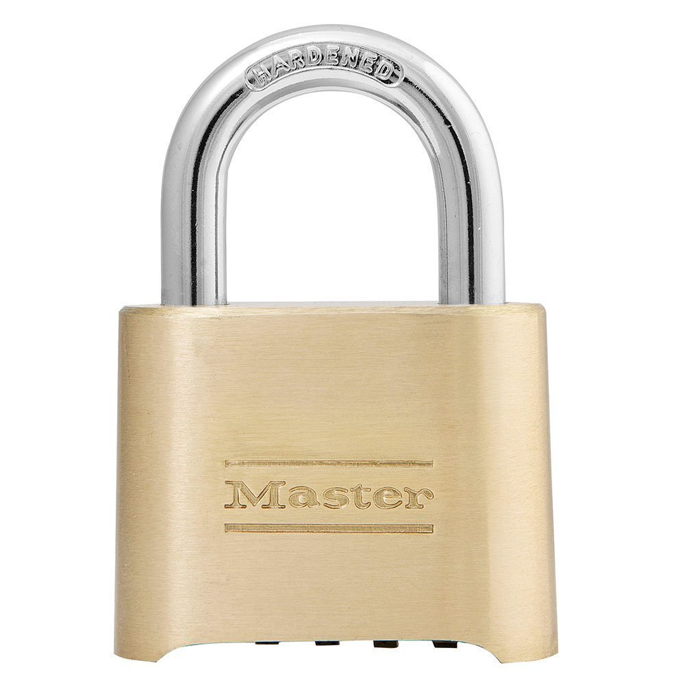 Master Lock 175D 12 Pack 2in. Combination Solid Body Padlock