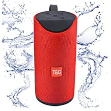 Bluetooth Speakers 5W*2, Portable Suitable for outdoor sports, Wireless Bluetooth 3.0 + EDR, Effective Distance of 10 Meters,Subwoofer,Bass, High-fidelity Speakers Sound Fine Red