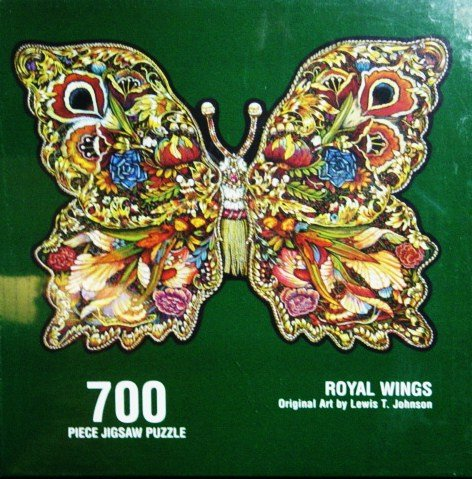 ROYAL WINGS original art by LEWIS T. JOHNSON (700 PIECE JIGSAW PUZZLE)
