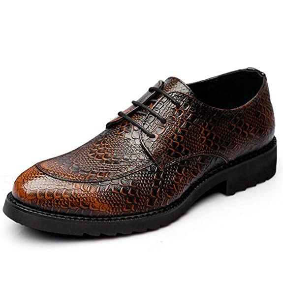 954fb90675e62c XI-GUA Herren Leder Business Schuh mit flexiblem Low-Soft-Arbeitsschuh für  Rutschfeste Klassische Freizeit Schuhe  Amazon.de  Schuhe   Handtaschen