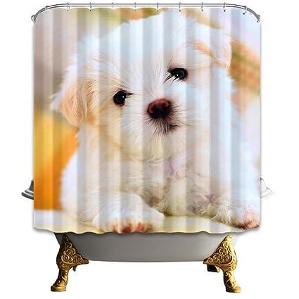 American Popular Casa Perro Suministros de baño ducha cortinas maletero resistente al agua resistente al moho