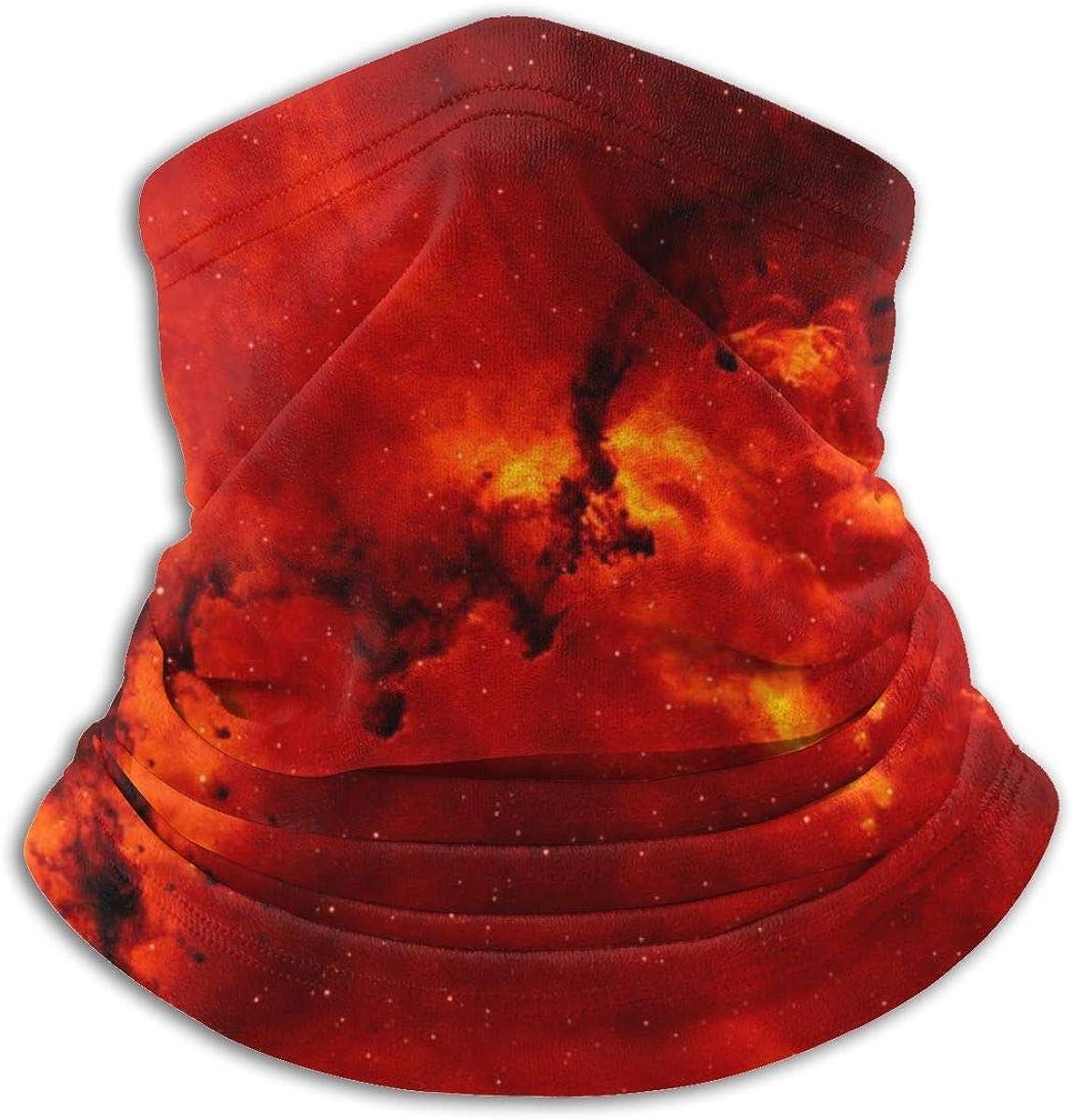 XXUU Rose Mystery Galaxy Nebula Space Universe Cuello cálido bufanda, mascarilla y pañuelo en la cabeza