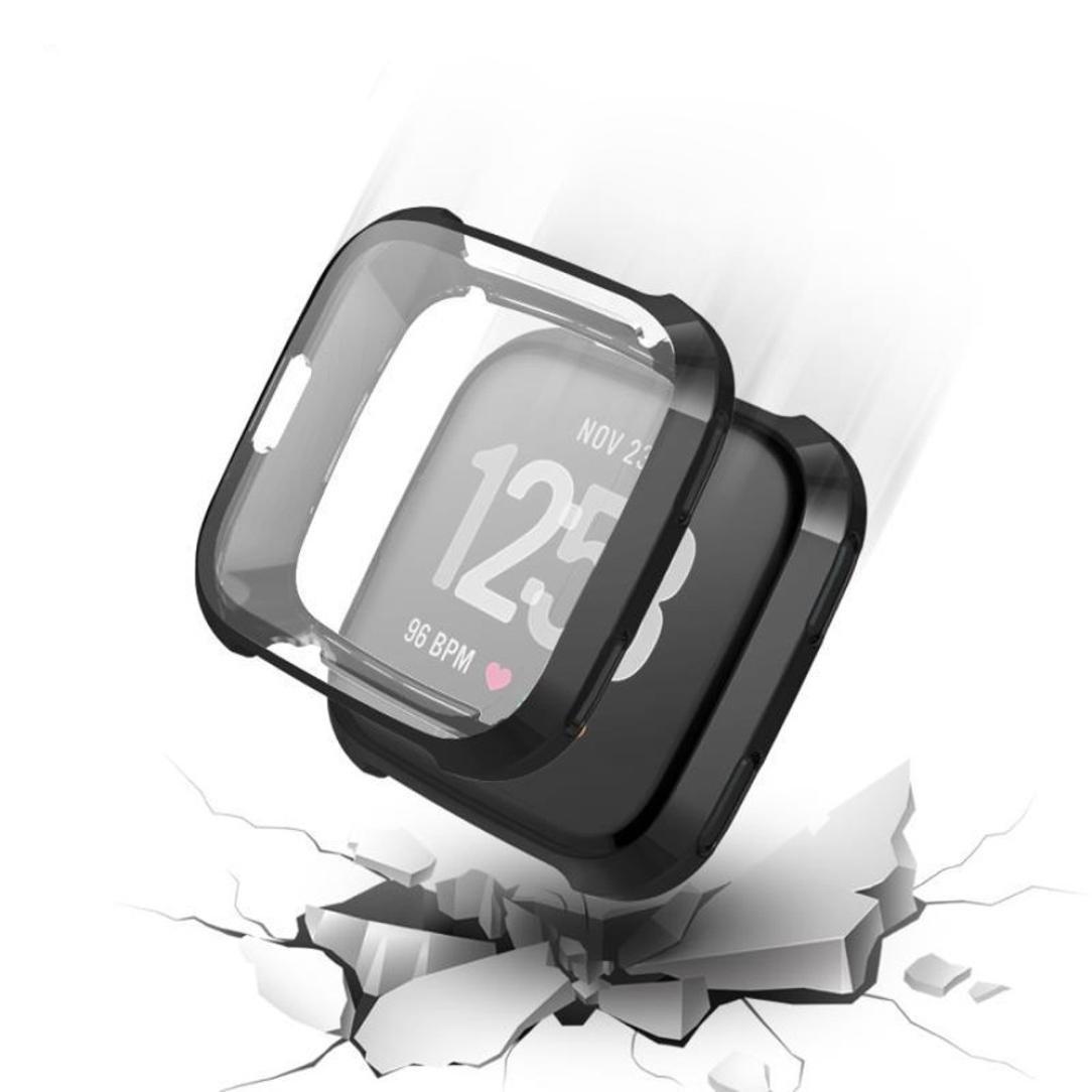 Zolimx Ultra-Delgada de Chapa Blanda TPU Protecci/ón Funda de Silicona para Fitbit Versa Fitbit Versa Protector