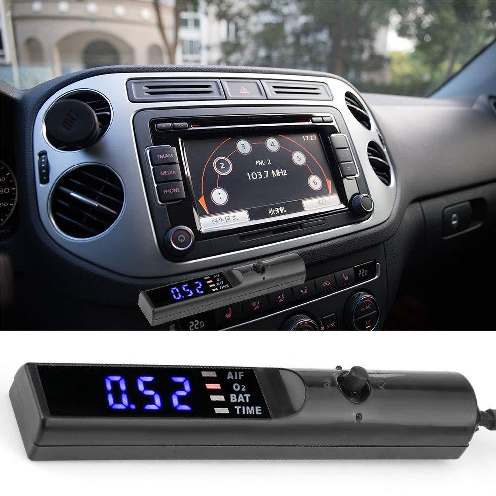 Aramox Auto Turbo Timer 12V Universal Turbo Timer Auto Modified Device Digital LED Display Parking Time Retarder