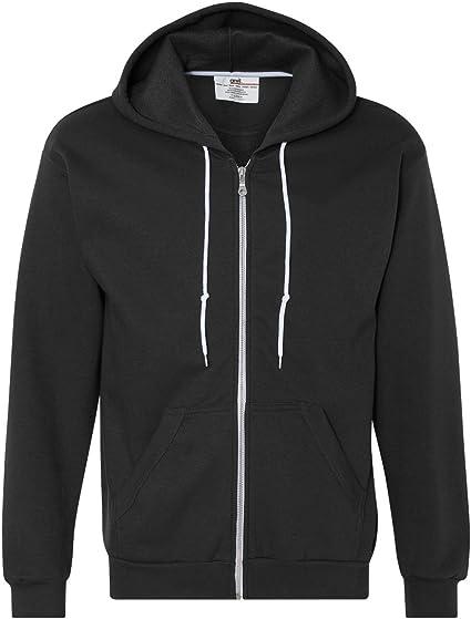 Anvil Adult Combed Ringspun Fashion Fleece Full-Zip Hood