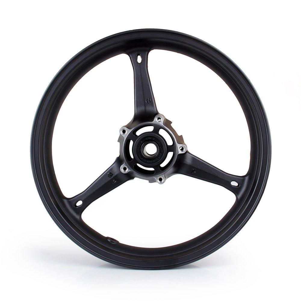 Artudatech Front Wheel Rim For Suzuki GSXR 600/750 2006-2007 GSXR 1000 2005-2008 Black