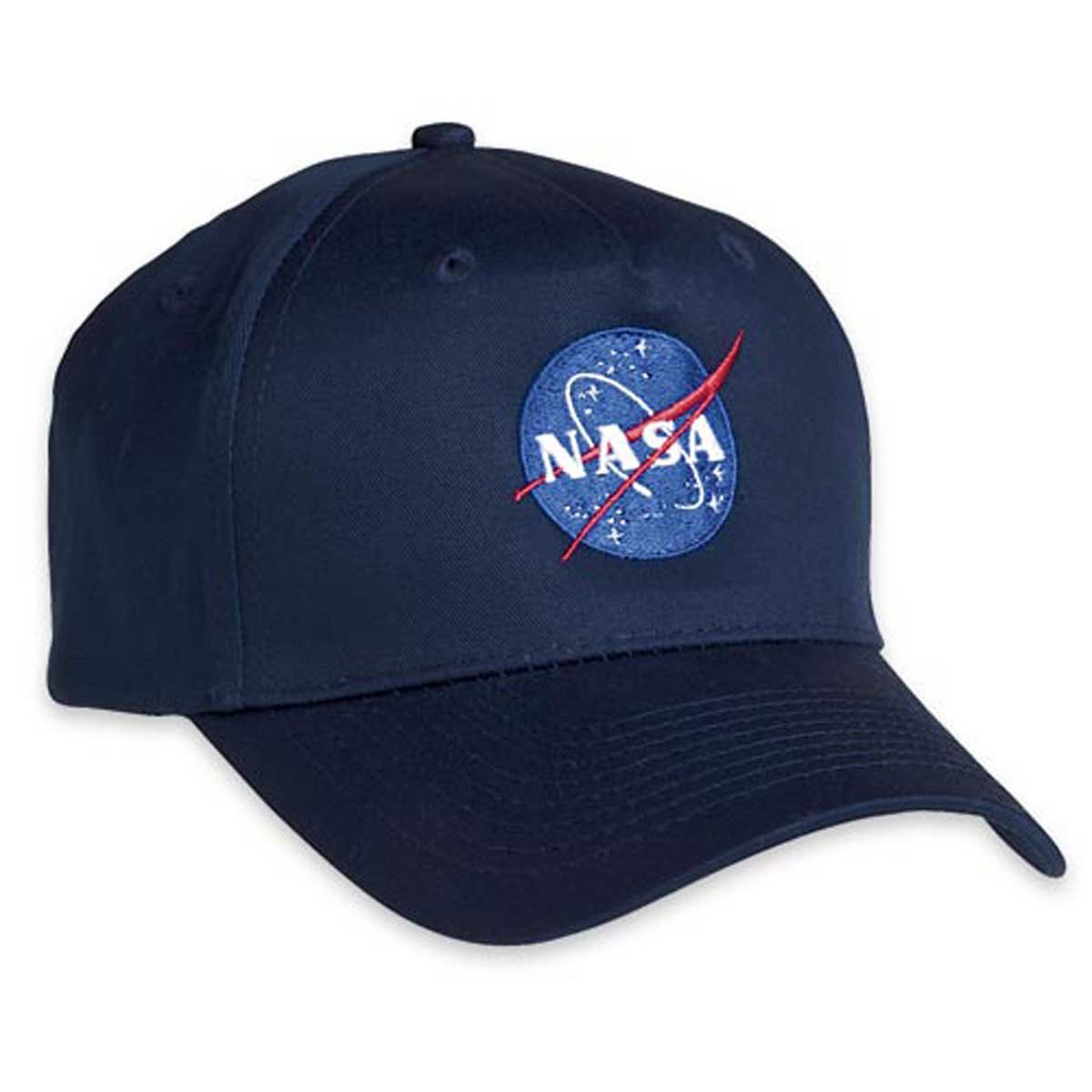 71842a3bab0 Amazon.com  ComputerGear NASA Baseball Cap Men Women Space Embroidered  Officially Licensed Cotton Black  Clothing