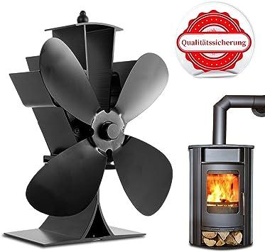 Orthland - Ventilador para chimenea, sin corriente, para chimenea ...