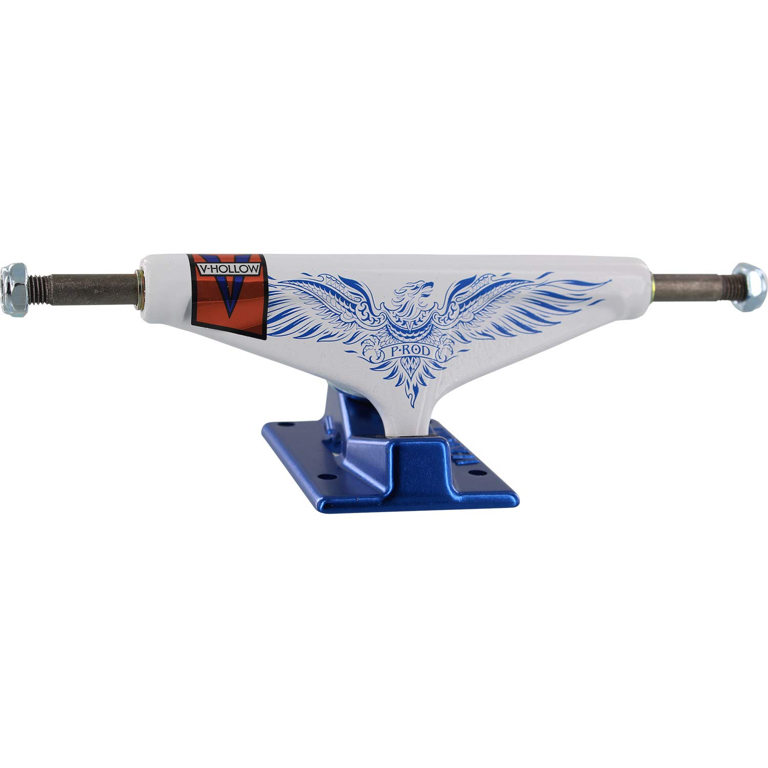 Venture Trucks Paul Rodriguez P-Rod Feniks LTD Pro V-Hollows High White//Blue Skateboard Trucks 5.25 Hanger 8.0 Axle Set of 2