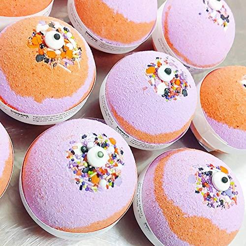Monster Mash Bath Bomb 6 oz Halloween gifts. Pumpkin Pecan Waffle scent. Halloween bath bomb fizzie