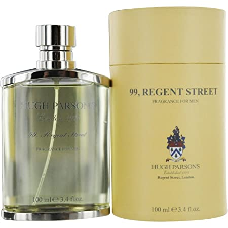Hugh Parsons 99 Regent Street Eau De Parfum Spray for Men, 3.4 Ounce