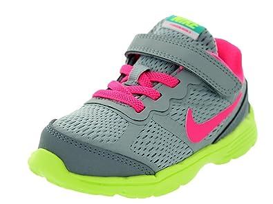 bf6904d7489 Amazon.com  Nike Toddlers Dual Fusion Run 3 (TDV) Lt Mgnt Gry Hypr ...