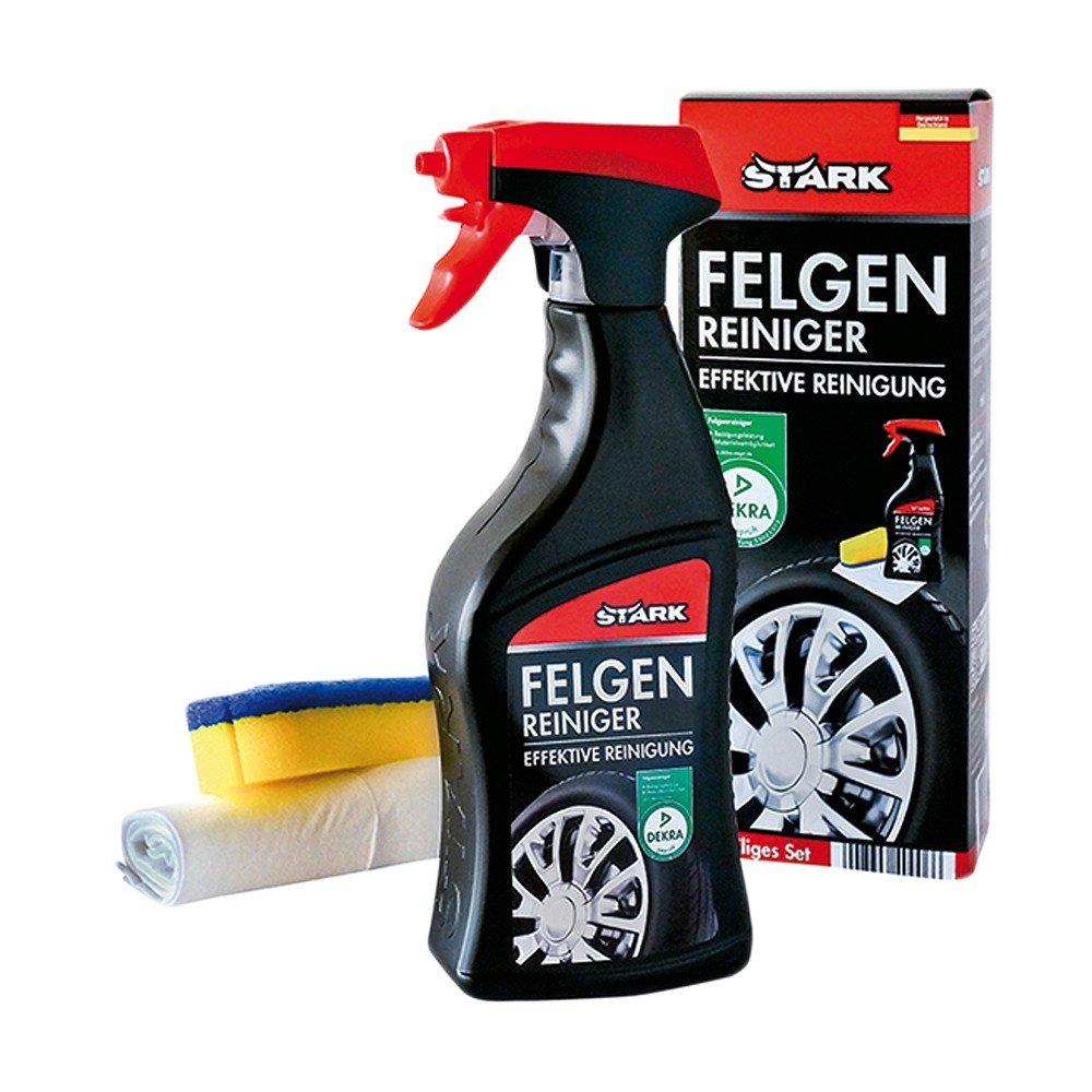 STARK 40006 Felgen-Reiniger-Set, DEKRA, 5-Teilig Stark GmbH