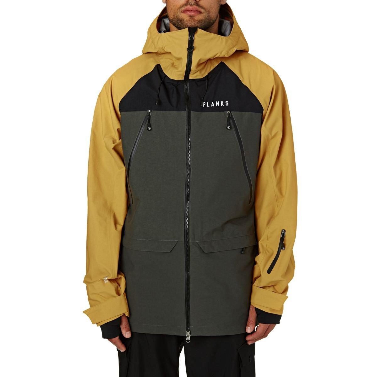 Planks Clothing Yeti Hunter 3層Jacket – Men 's B076PT5HXJ  マスタード X-Large