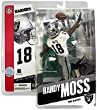 NFL Series 11 Figure: Draft Pick - Randy Moss, Oakland Raiders White Jersey