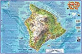 Hawaii The Big Island Guide Franko Maps Laminated Map