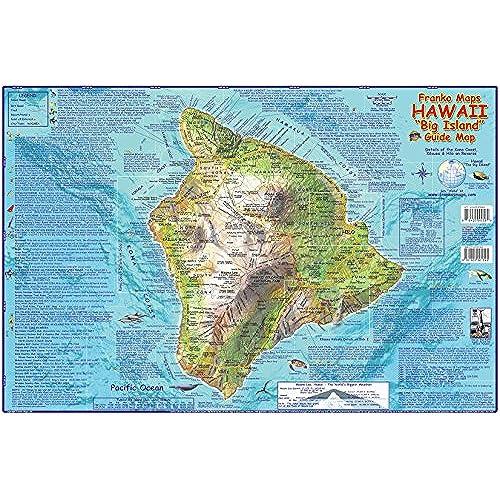 Map Hawaii Amazoncom