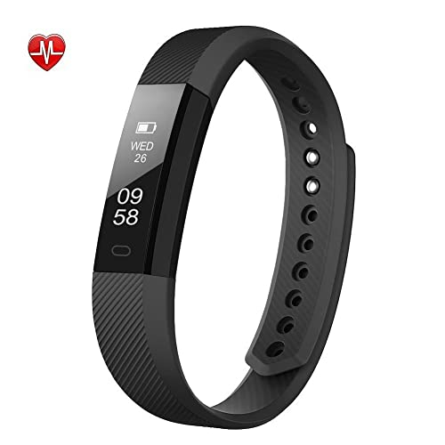 BALMORA Fitness Tracker, Heart Rate Monitor Watch With Ttouch Screen, Call/sms/sns Alert, Activity Tracking and Sleep Monitor for Android and iOS