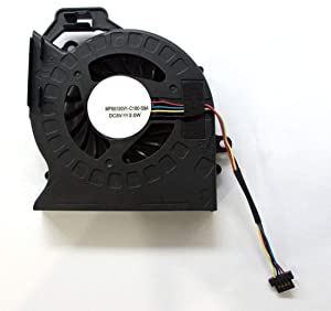 DBParts CPU Cooling Fan for HP Pavilion DV6-6100 DV6-6b00 DV6-6c00 DV6T-6000 DV6-6104NR DV6-6106NR DV6-6111NR DV6-6112NR DV6-6B26US DV6-6C10US DV6-6C40US DV6-6117DX DV6-6145DX DV6-6B47DX DV6-6C35DX